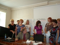 Фото с участниками семинара
